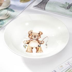 Миска малая «Медвежата», 250 мл, d=17,5 см