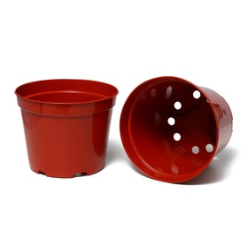 Seedling pot, 7.5 L, d = 26 cm, h = 20 cm, terracotta, Greengo