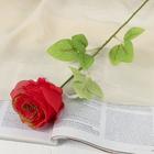"""Цветок искусственный """"Роза с позолотой"""" - фото 1692533"""
