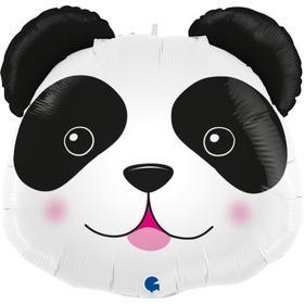 """Фольгированный шар 29"""" фигура """"Голова панды""""   1207-4072"""