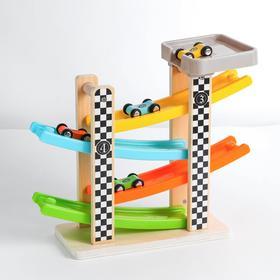 Деревянная игрушка «Автотрек» 10×31×25 см