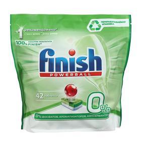 Таблетки для посудомоечных машин Finish PowerBall, 42 шт