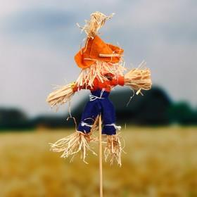 Огородное пугало «Тыква», h = 50 см, МИКС - фото 4665233