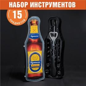 """Набор инструментов в бутылке """"True man"""""""