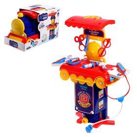 """Игровой набор """"Доктор"""" в чемодане-паровозе"""