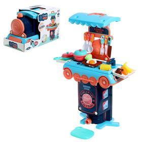 """Игровой набор """"Кухня"""" в чемодане-паровозе"""