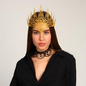 Карнавальный набор «Королева ночи», чокер, диадема