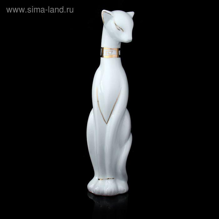 """Сувенир """"Кошка египетская белая"""" под фарфор"""
