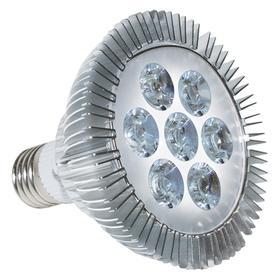 Фитолампа светодиодная, 7 Вт, цоколь Е27, LED 7 (6 красных, 1 синий)