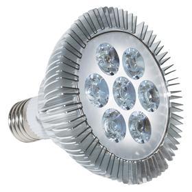 Фитолампа светодиодная «Оптимум», 7 Вт, цоколь Е27, LED 9 (5 красных, 2 голубых, 2 белых)
