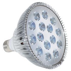Фитолампа светодиодная, 15 Вт, цоколь Е27, LED 15 (12 красных, 3 синих)