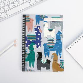 """Llamaizing"" A5 notebook, 60 sheets"