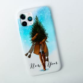 """Phone case for iPhone pro """"New Year"""", 7.14 × 14.4 cm"""