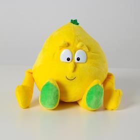 Мягкая игрушка «Лимон», большая