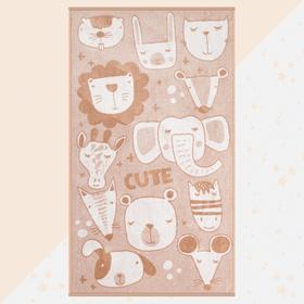 """Полотенце махровое """"Этель"""" Cute, 70х130 см, 100% хлопок, 420гр/м2"""