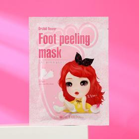 Маска-носочки для ног пилинг Orchid Flower Foot Peeling Mask, 40 мл