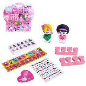 Набор для девочек для маникюра «Стильный набор» с аксессуарами