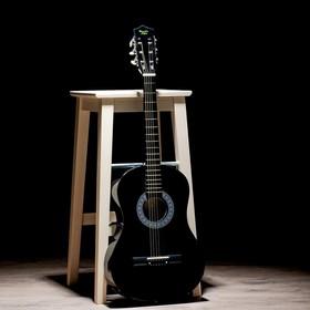 Гитара классическая черная, 6-ти струнная 97см