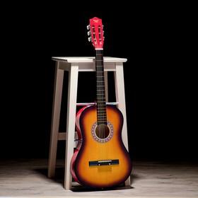Гитара классическая санберст, 6-ти струнная, 97см