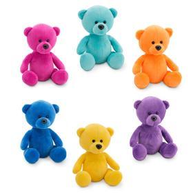Мягкая игрушка «Медвежонок Сюрприз», 15 см, цвет МИКС