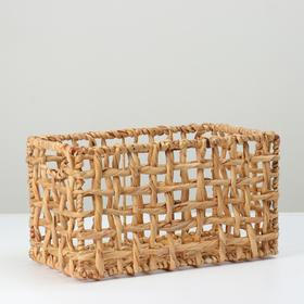Корзина плетеная, 35х20х20, камыш
