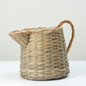 Кашпо плетеная, 26х20, бамбук