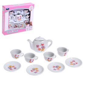"Set of ceramic dishes ""Summer"""