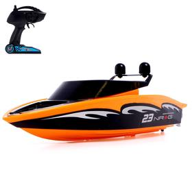 Radio-controlled Speedboat, powered by batteries, MIX