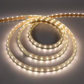 Светодиодная лента Ecola, 220В, SMD5050, 50 м, IP68, 14.4Вт/м, 60 LED/м, 14x7 мм, 4200К