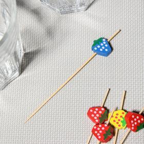 {{photo.Alt || photo.Description || 'Шпажки «Цветная клубничка», 12 см, набор 25 шт'}}