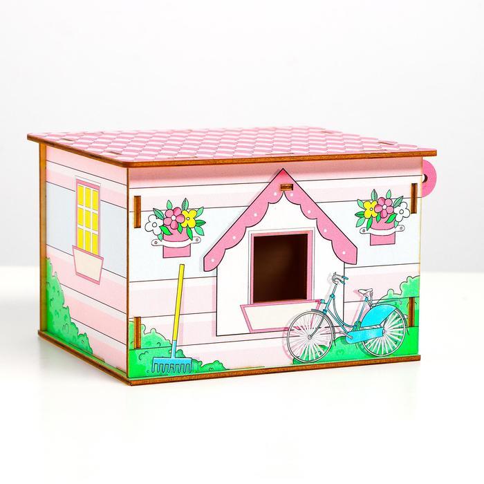 Домик для кукол - фото 76738581