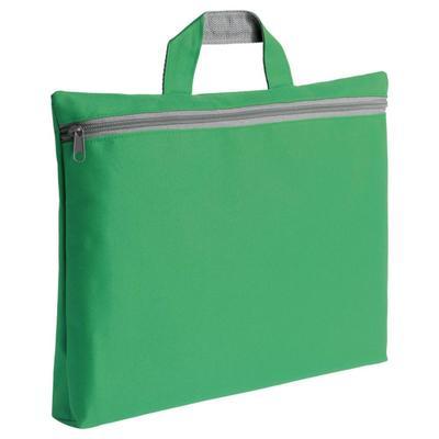 Simple green folder bag
