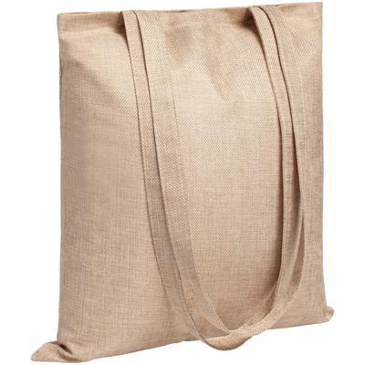 Foster Mart beige shopping bag