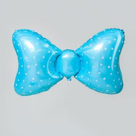 "Foil balloon 36 """" blue Bow"""