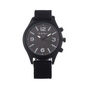 AMM + wrist watch, d=4.4 cm, textile