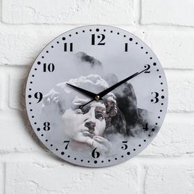 """Часы дерево настенные """"Давид"""", d=29 см"""