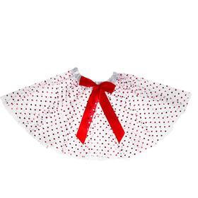 """Carnival skirt """"Bow"""", two-layer"""