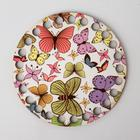 "Blank for knitting ""butterfly Circle"", plywood bottom, size 10 cm"
