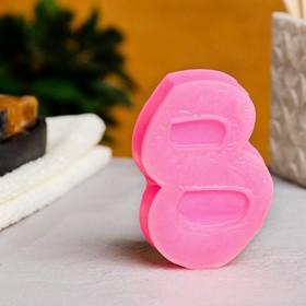 """Мыло фигурное """"8 марта кружево"""" светящееся, 95гр"""