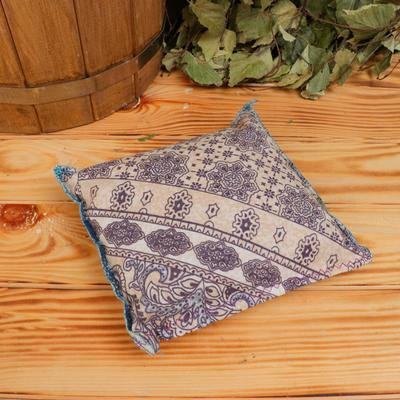 Souvenir pillow, 13×13 cm, juniper, lavender, mix