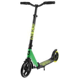 Самокат для детей NOVATRACK POLIS PRO, колеса PU 200*180мм, лимонный