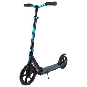 Самокат детский NOVATRACK POLIS PRO, колёса PU 230 × 200 мм, цвет синий