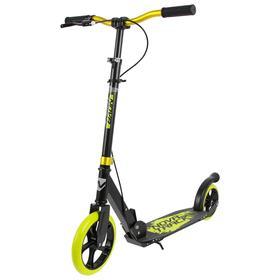 Самокат детский NOVATRACK POLIS, колёса 230 × 180 мм PU, цвет лимонный