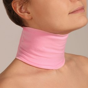 Gel Spa neck mask 46*10cm rose card box