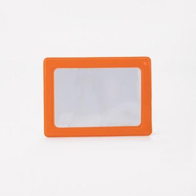 Cardholder, 9,5*0,1*6cm, 1 row, 2kart, orange