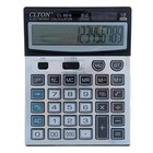 Калькулятор настольный 16-разрядный CL-8816 двойное питание