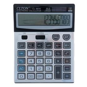 Desktop calculator, 16-bit, CL-8816, dual power
