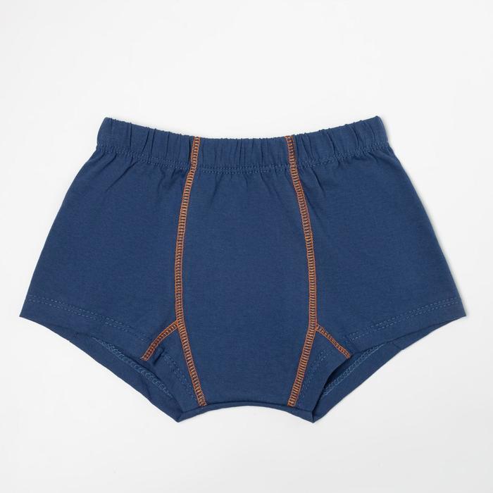 Трусы-боксеры для мальчика, цвет джинс, рост 140-146 см - фото 76777472