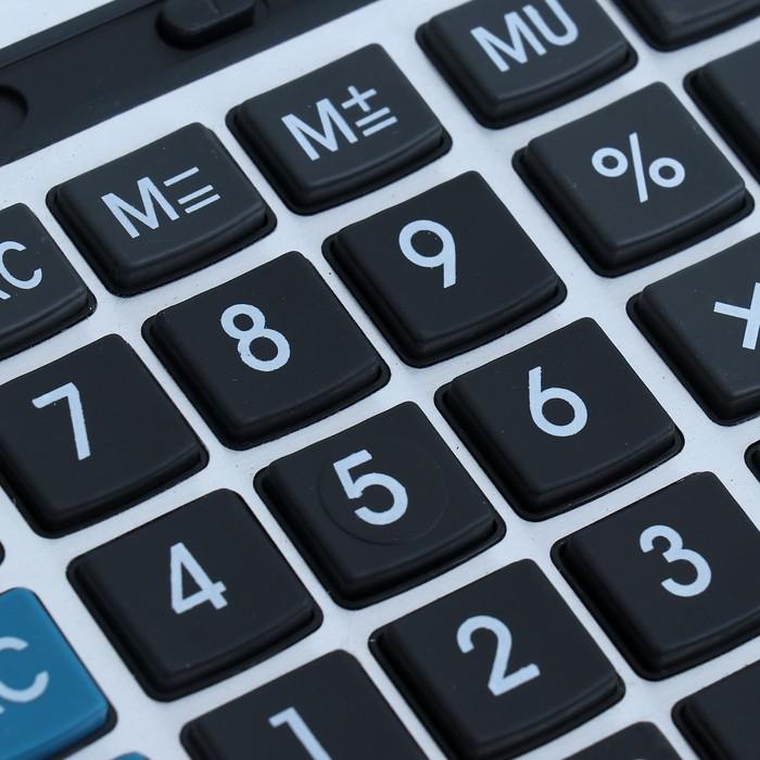 Калькулятор настольный, 16-разрядный, CL-326, двойное питание - фото 415605054