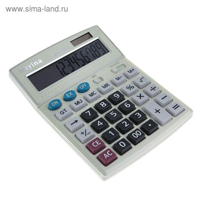 Калькулятор настольный 12-разрядный CA-9200H двойное питание